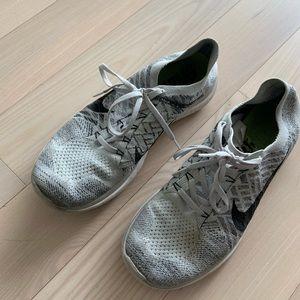 Nike grey fly knits